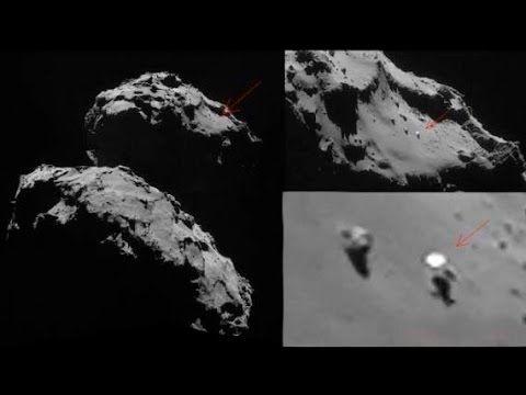 Los sonidos extraterrestres del cometa 67P