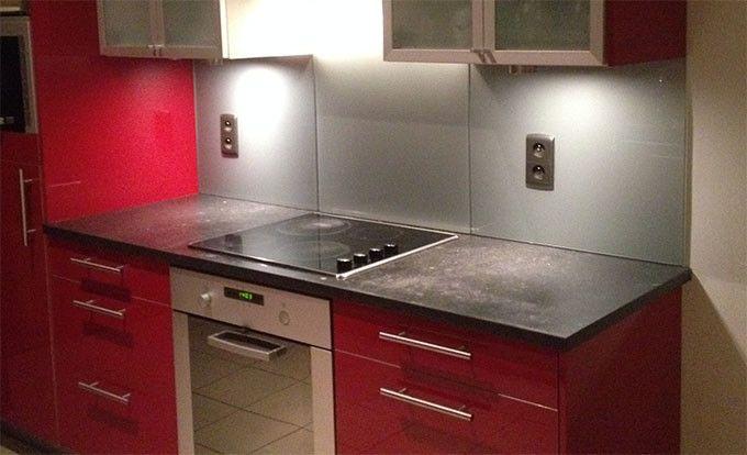 Glazen Spatwand Keuken : Afbeeldingsresultaat voor glazen spatwand keuken nieuwe keuken
