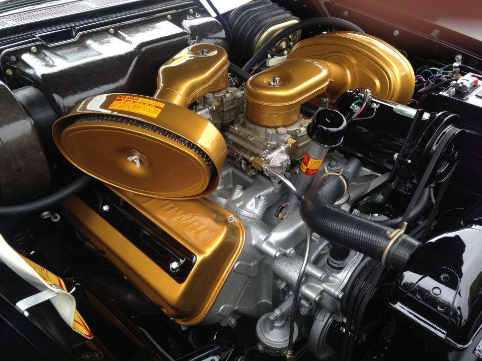 392 C I Hemi Engine In A 1957 Chrysler 300c Engines