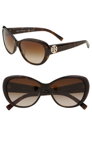 3375d188f5076 Tory Burch 56mm Cat s Eye Sunglasses available at  Nordstrom