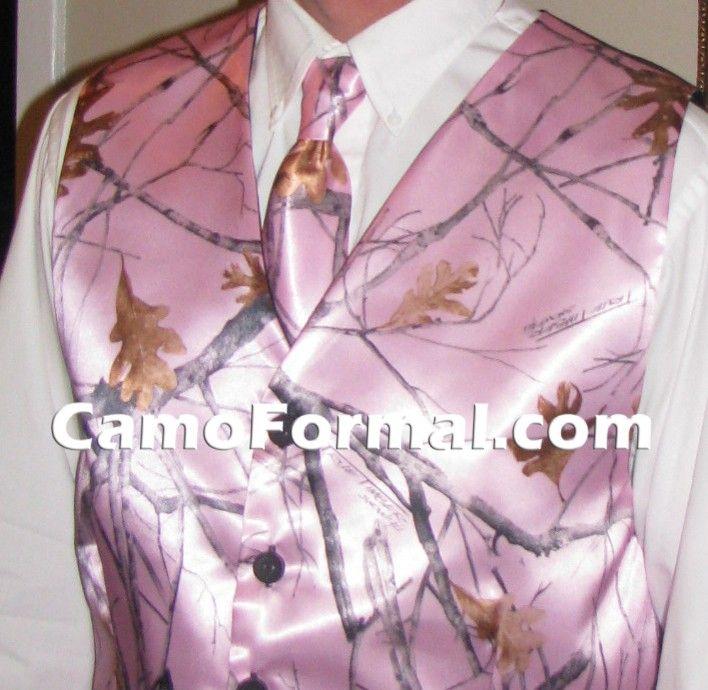 pink camo wedding dresses | Men\'s Camouflage Tie Camouflage Prom ...