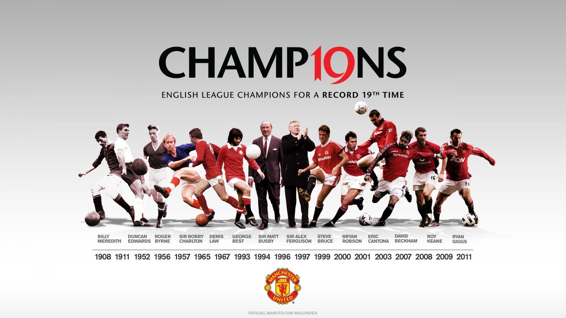 Manchester United Team Football Http Www Wallpapers4u Org Manchester U Manchester United Wallpaper Manchester United Champions Manchester United Football