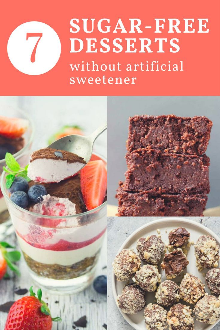 8 sugarfree desserts without artificial sweeteners so