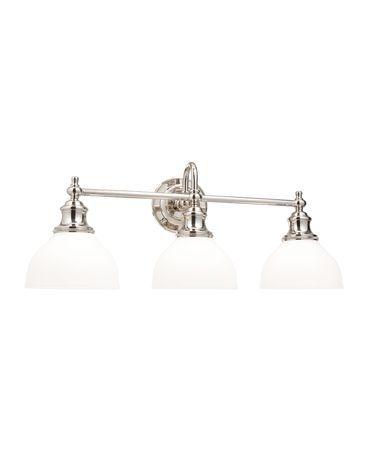 Photo of Sutton 26 Inch 3 Light Bath Vanity Light | Capitol Lighting