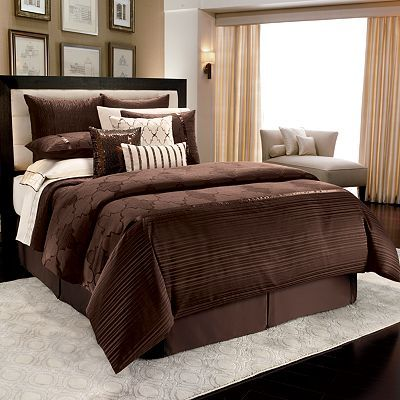 Jennifer Lopez Bedding Collection Instinct 4 Pc Comforter