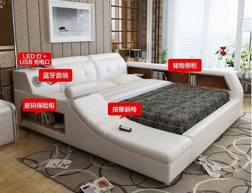 Master Bedroom Multifunctional Tatami Bed The New Era of