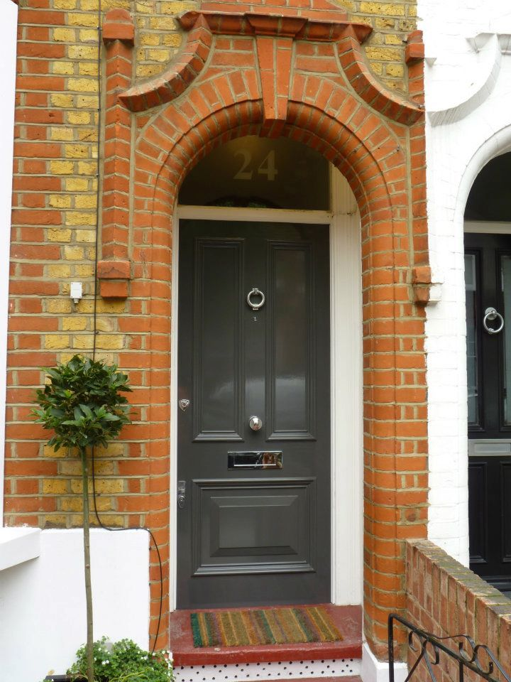 The London Door Company \'Dark Grey\' paint colour - Gloss | DOORS ...
