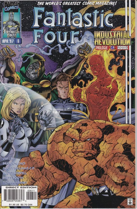 Fantastic Four 1996 2nd Series 6 April 1997 Issue by ViewObscura, $3.00