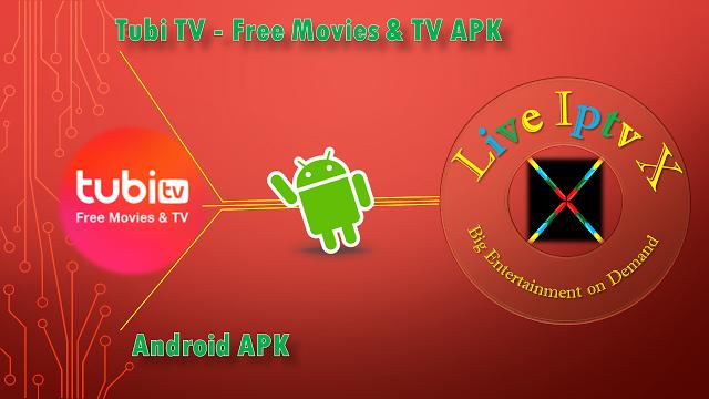 Tubi TV Free Movies & TV Premium Android Iptv Apk Tubi