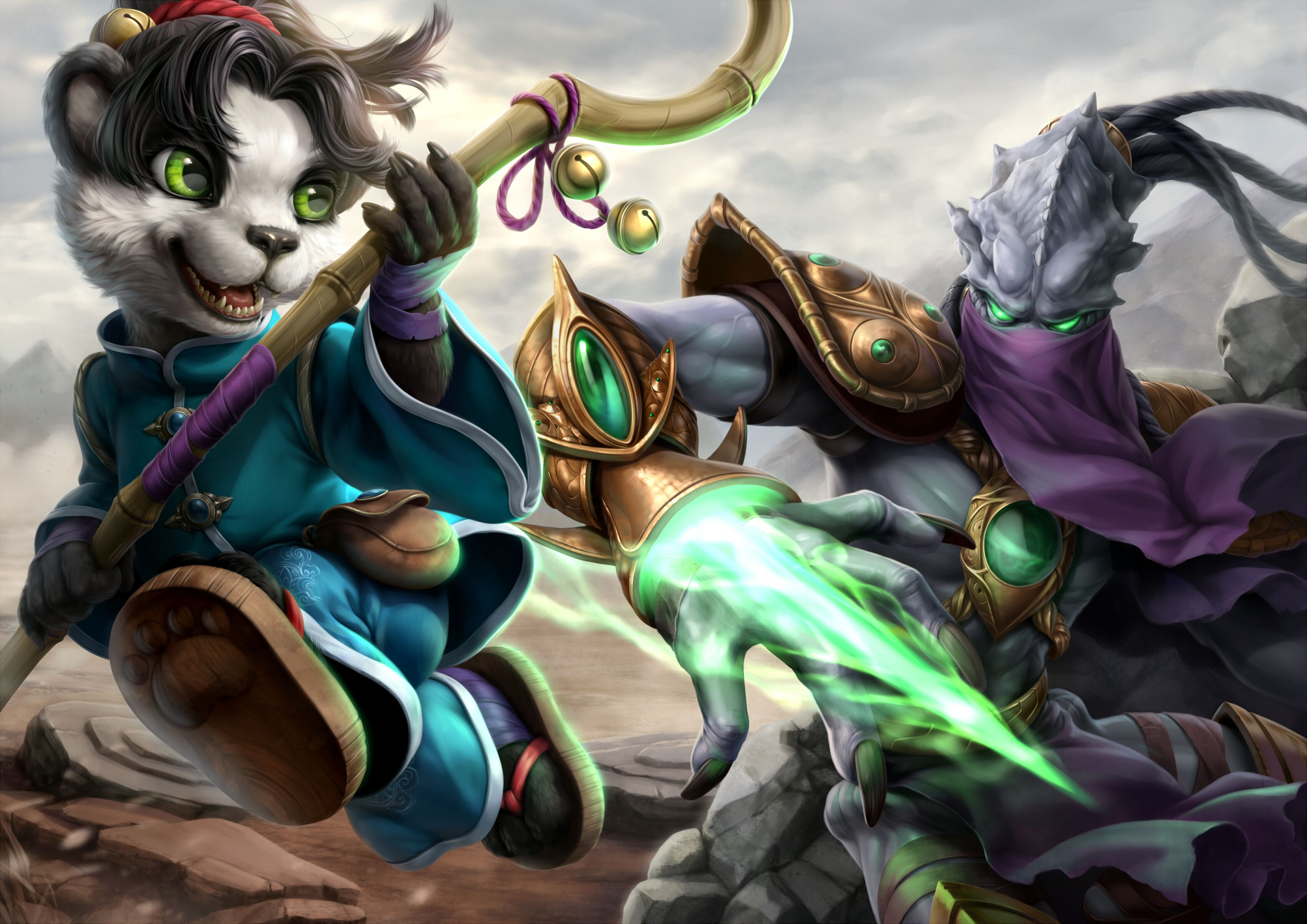 Picture Wow Starcraft Heroes Of The Storm Pandas Li Li Hots Zeratul Fantasy Games Animals 3394x2400 World Of W Heroes Of The Storm Favorite Character Starcraft