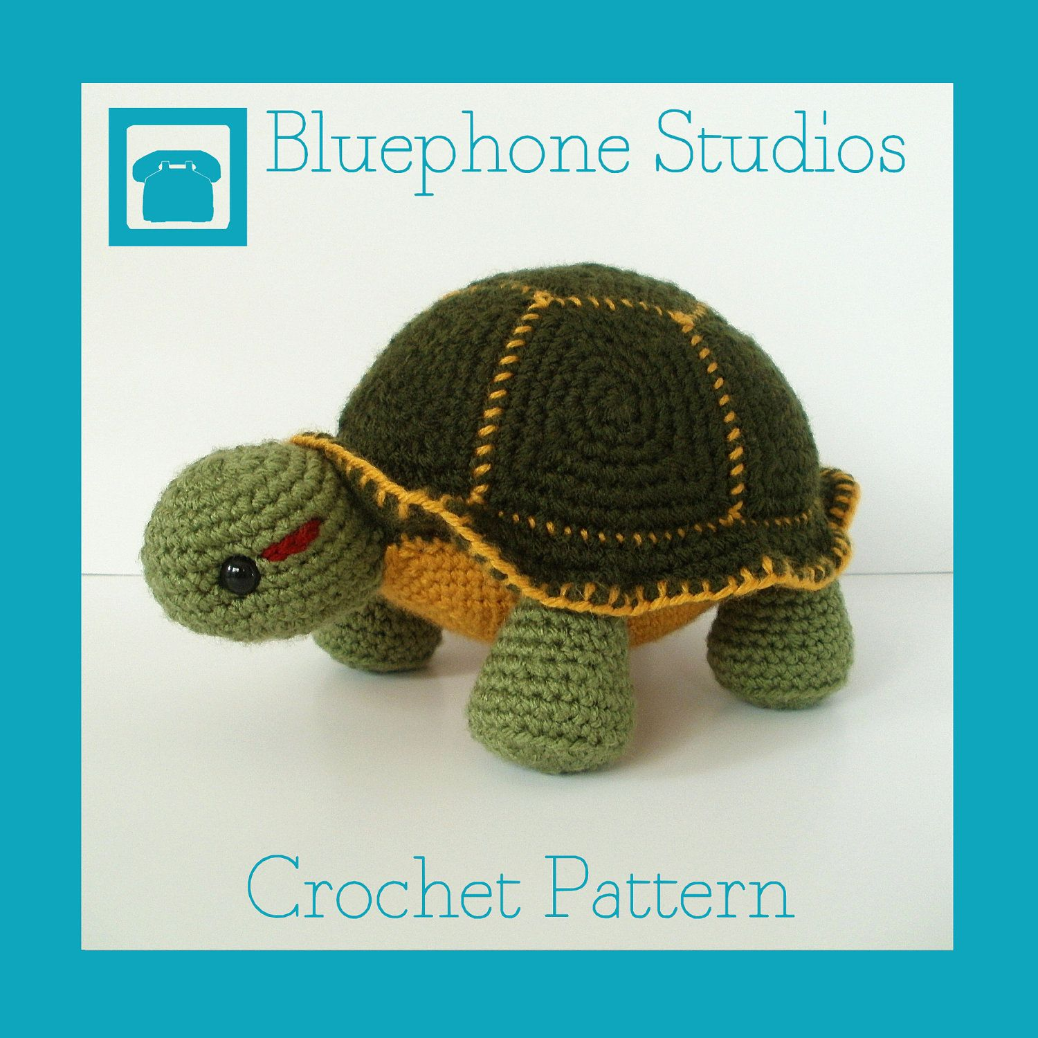 Crochet Pattern Orion the Turtle by BluephoneStudios on Etsy, $5.00