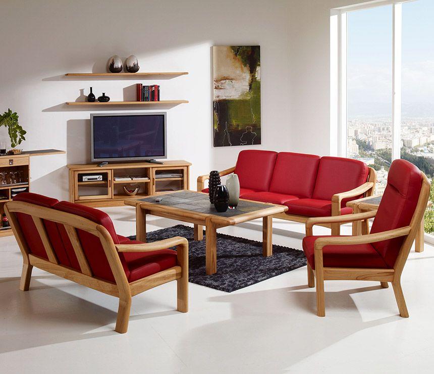 Classic Danish Wood-frame Sofas   Wharfside Furniture ...