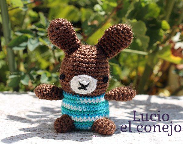 Conejo Amigurumi Patron Gratis : Lucio el conejo amigurumi patrón gratis en español aquí