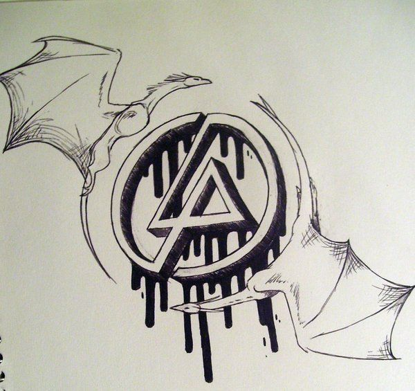 Guards Of The Linking Park Symbol Tattoo Design By