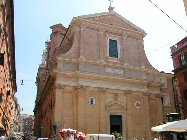 Borromini Sant Andrea Delle Fratte Roma Fachada Sant Andrea Architecture Baroque