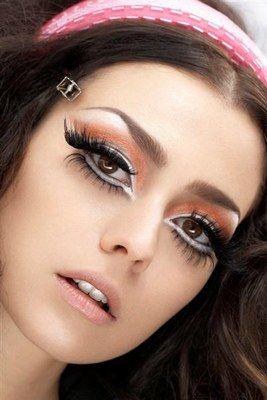 Im really loving the 'big eyes' makeup effect