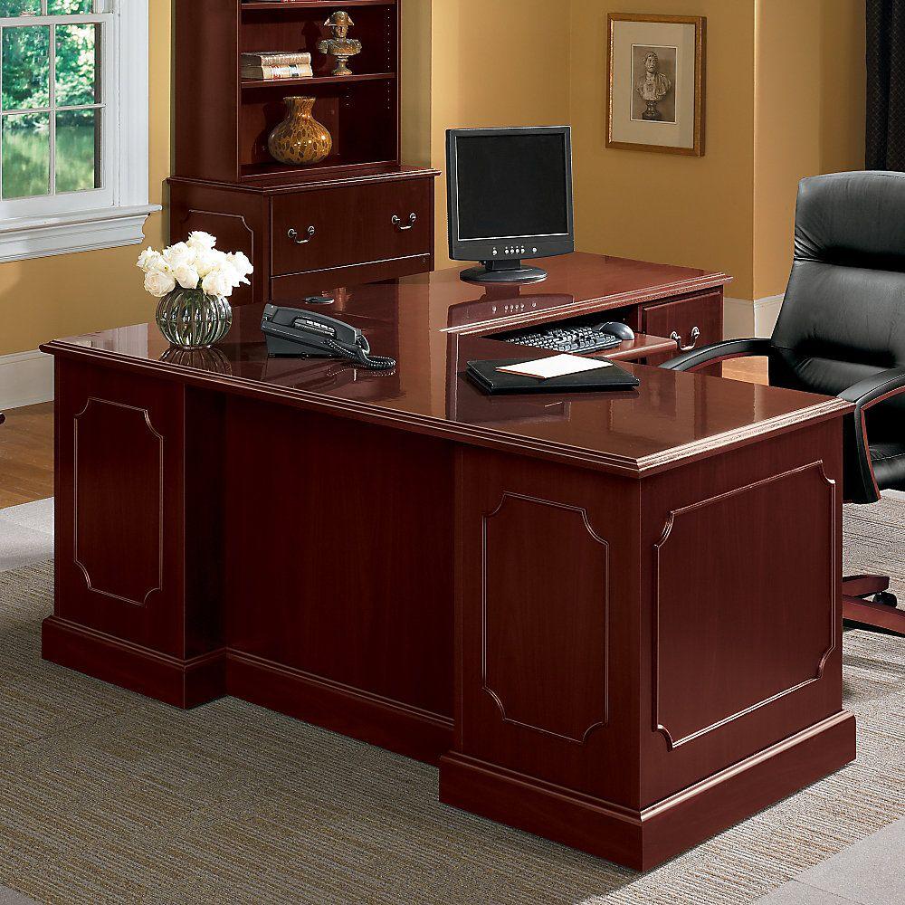 "HON® 94000-Series Desk For The ""L""-Shaped Workstation"