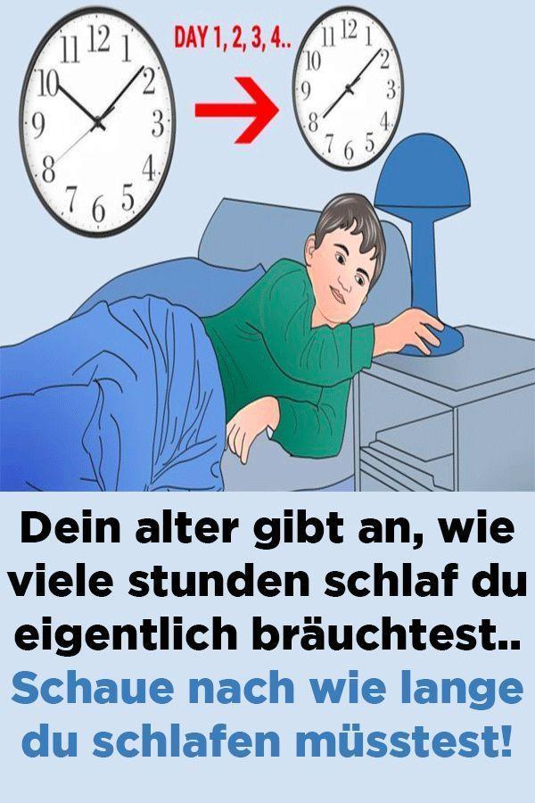 Gesunder Schlaf Wie Lange