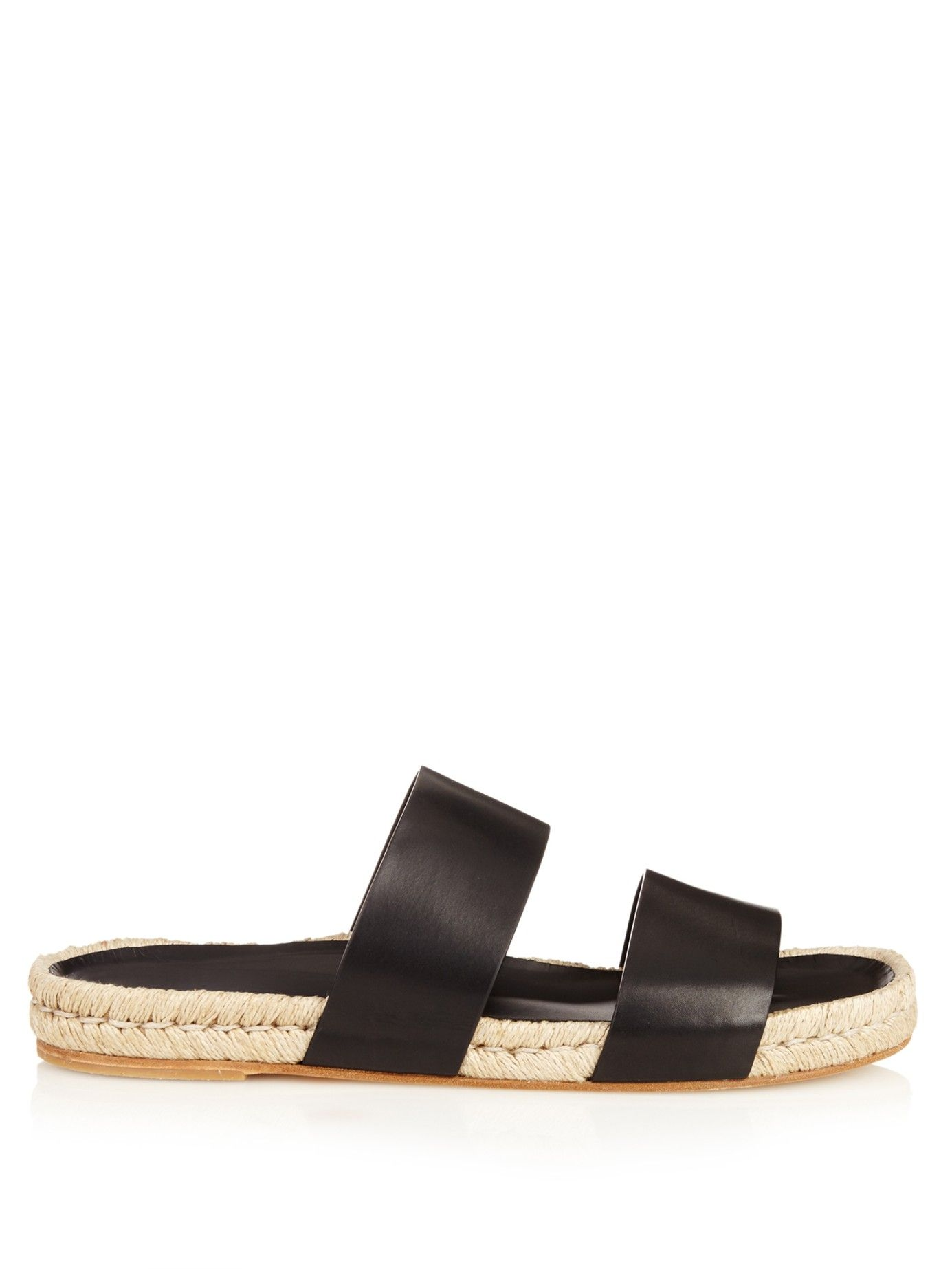low price online for sale cheap real Balenciaga Leather Espadrille Sandals clearance 2014 unisex Zz4zCXsa0q
