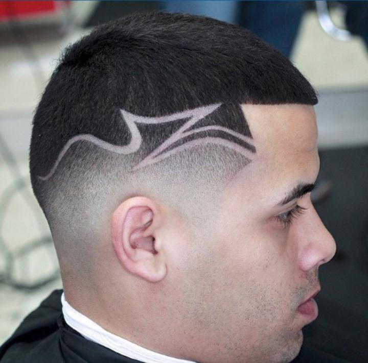 cool clipper cut hair design