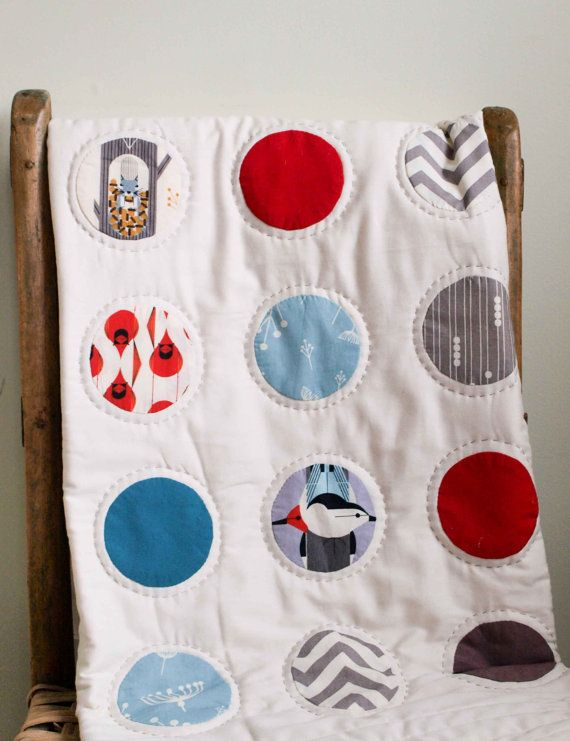 CHARLEY HARPER DOTS Quilt Made by organicquiltcompany, $295.00 ... : organic baby quilts - Adamdwight.com