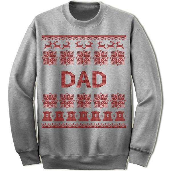Dad Ugly Christmas Sweater.