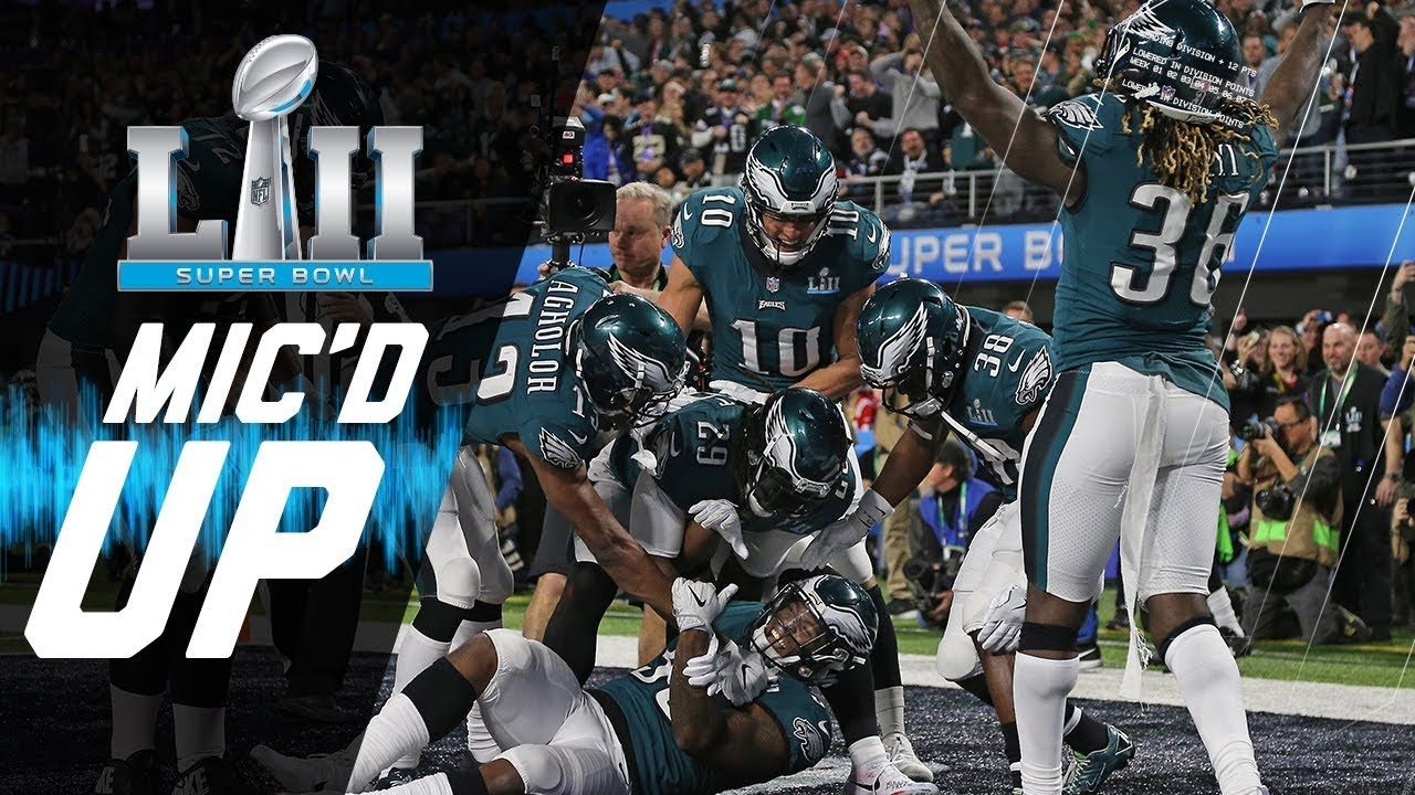 Eagles Vs Patriots Mic D Up You Want Philly Philly Super Bowl Lii Eagles Vs Eagles Super Bowl Super Bowl