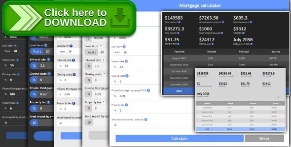 Free Nulled Mortgage Calculator With Amortization Download  Loan