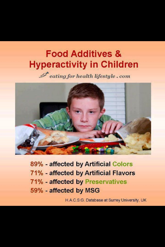 Lifestyle Choices For Kids With Adhd >> Food Additives Hyperactivity In Children Adhd Food Choices