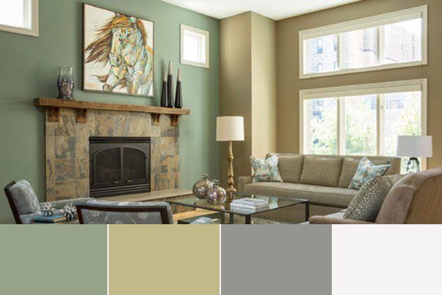 40 Combinaciones De Colores Para Pintar Un Salon Mil Ideas De Decoracion Combinaciones De Colores Interiores Colores De Interiores Colores De Casas Interiores