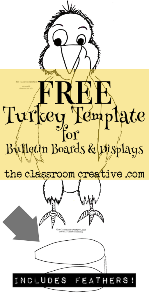 turkey template for bulletin board.html
