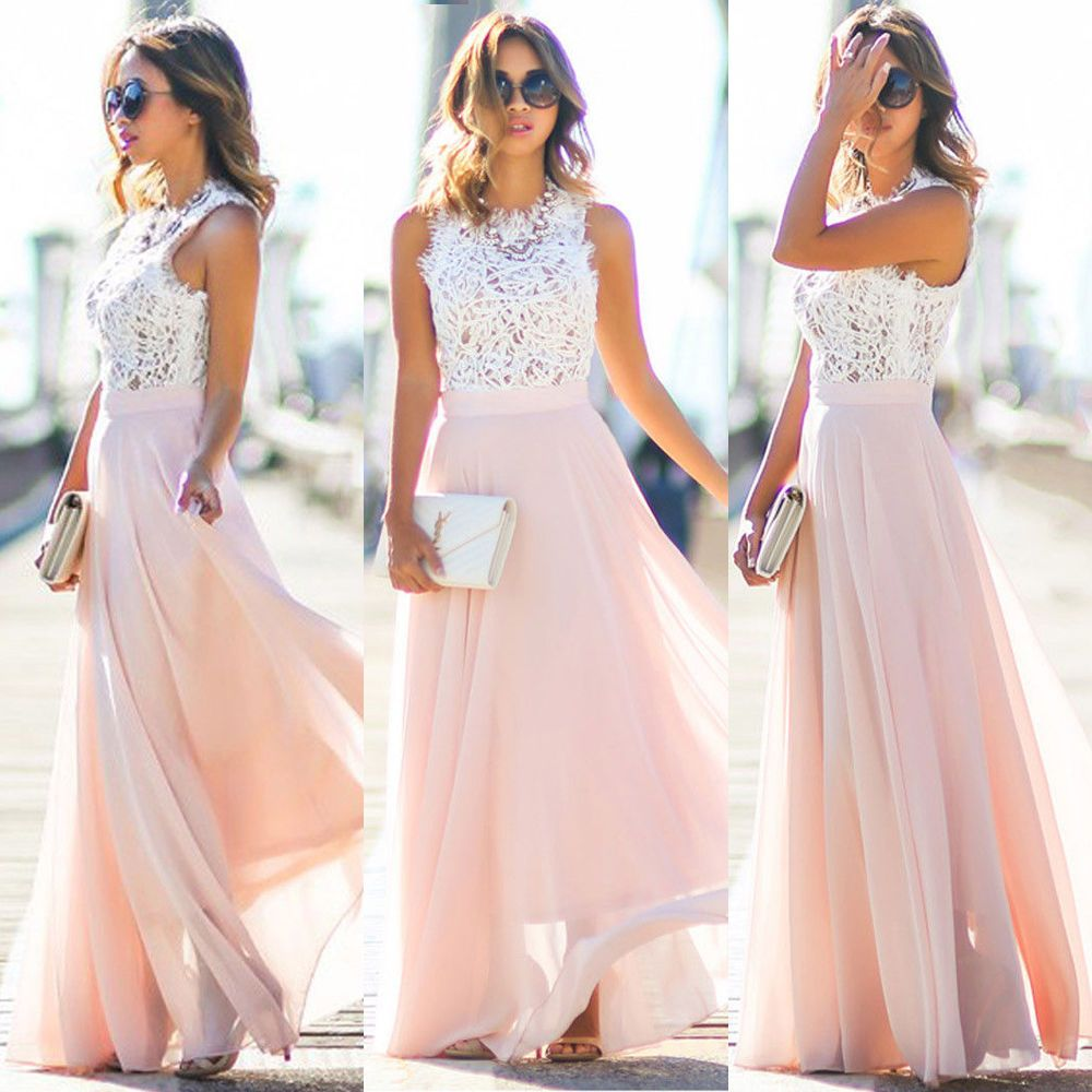 a23fbf7ee2c Women s Ladies Boho Summer Beach Evening Party Cocktail Long Maxi Dress  Sundress  Unbranded  Maxi  Cocktail