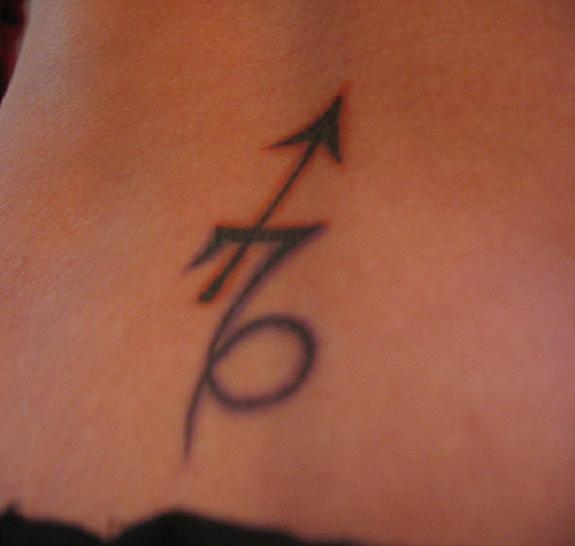 Sagittarius Symbol Tattoos Capricorn And Sagittarius Sign Tattoo