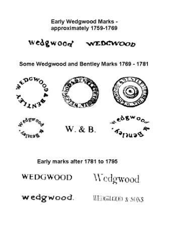 Wedgwood Marks Porcelain English Wedgwood Stoke On Trent Porcelain