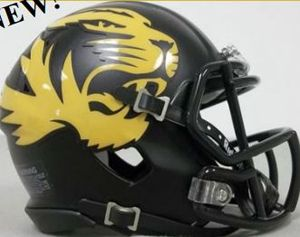 Missouri Tigers Matte Black Alternate Authentic Revolution Speed Full Size Helmet ORDER NOW