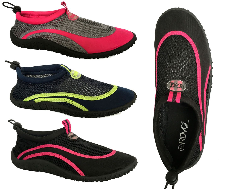 cdb7fedc2615 Fins Footwear and Gloves 159142  Womens Water Shoes Aqua Sock Pool Beach  Dance Yoga Exercise Surf--Aquashield (L) -  BUY IT NOW ONLY   13.98 on eBay!