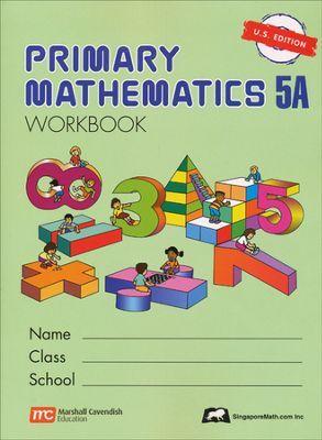 Singapore Math Primary Math Workbook 5a Us Edition Homeschooling