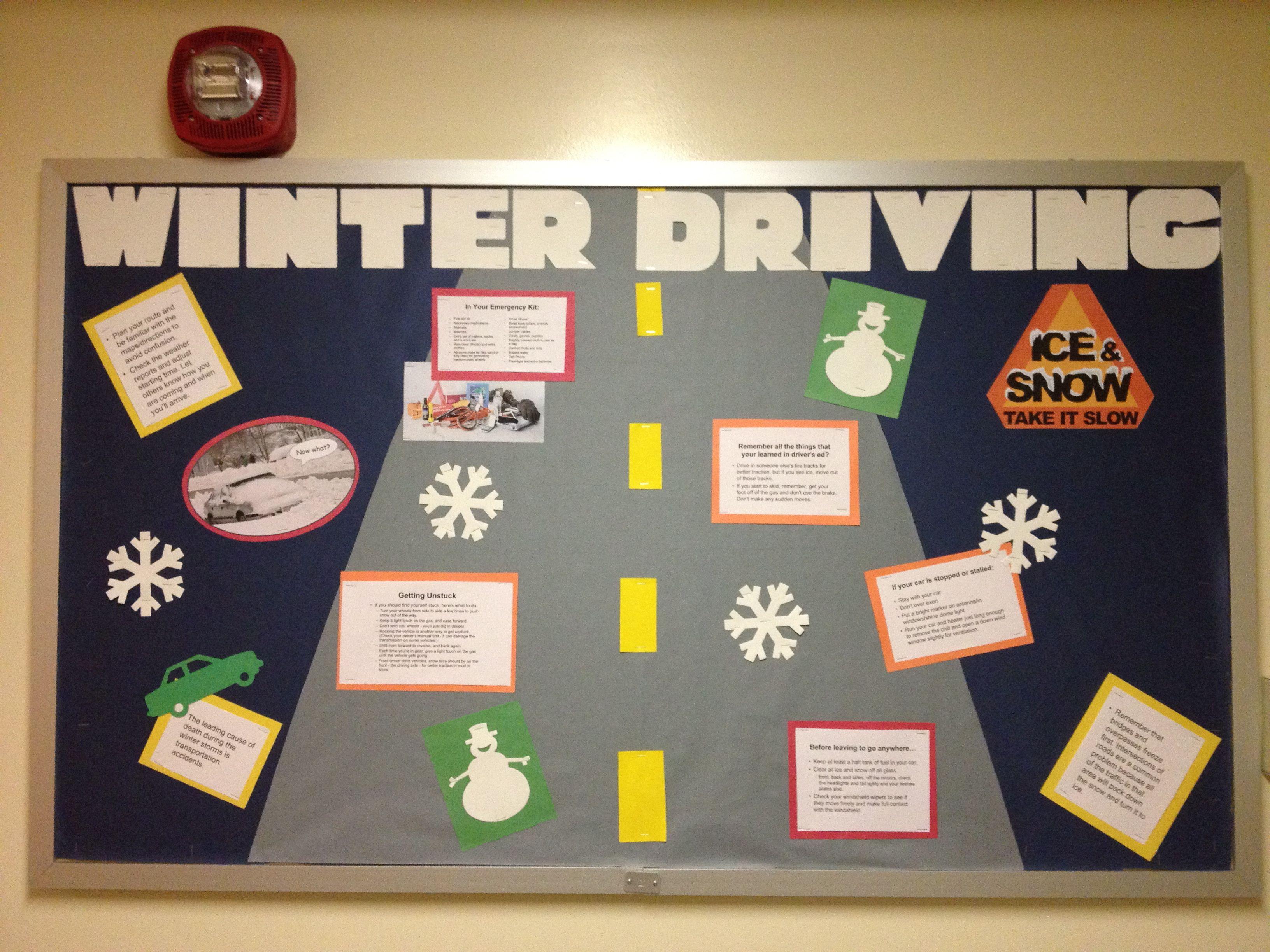 Ra Winter Bulletin Board Ideas
