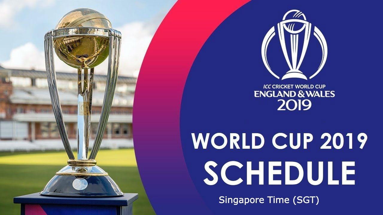 The 12th edition of Cricket World Cup is scheduled from