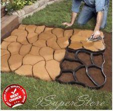 Wonderful Stepping Stone Mold Concrete Paving Pavement Pathway Sidewalk Path Marker  Garden