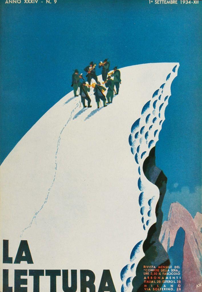 Copertina di Bruno Angoletta, settembre 1934