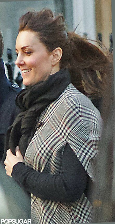 Kate Middleton Covers Her Bump to Shop Maternity Clothes in London ...
