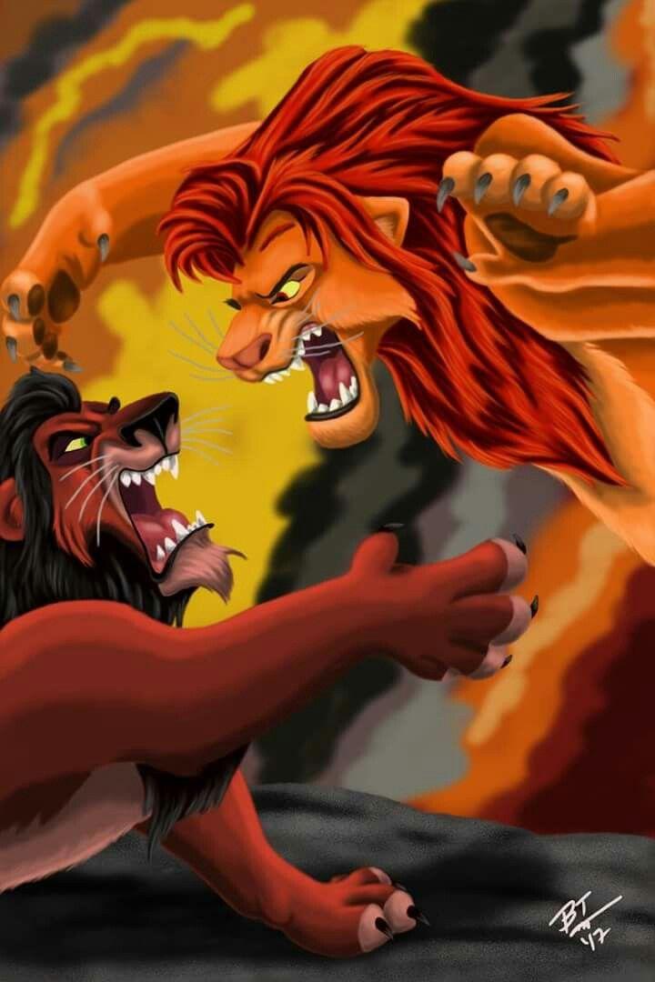 Lions Evil Guard Disney Lion