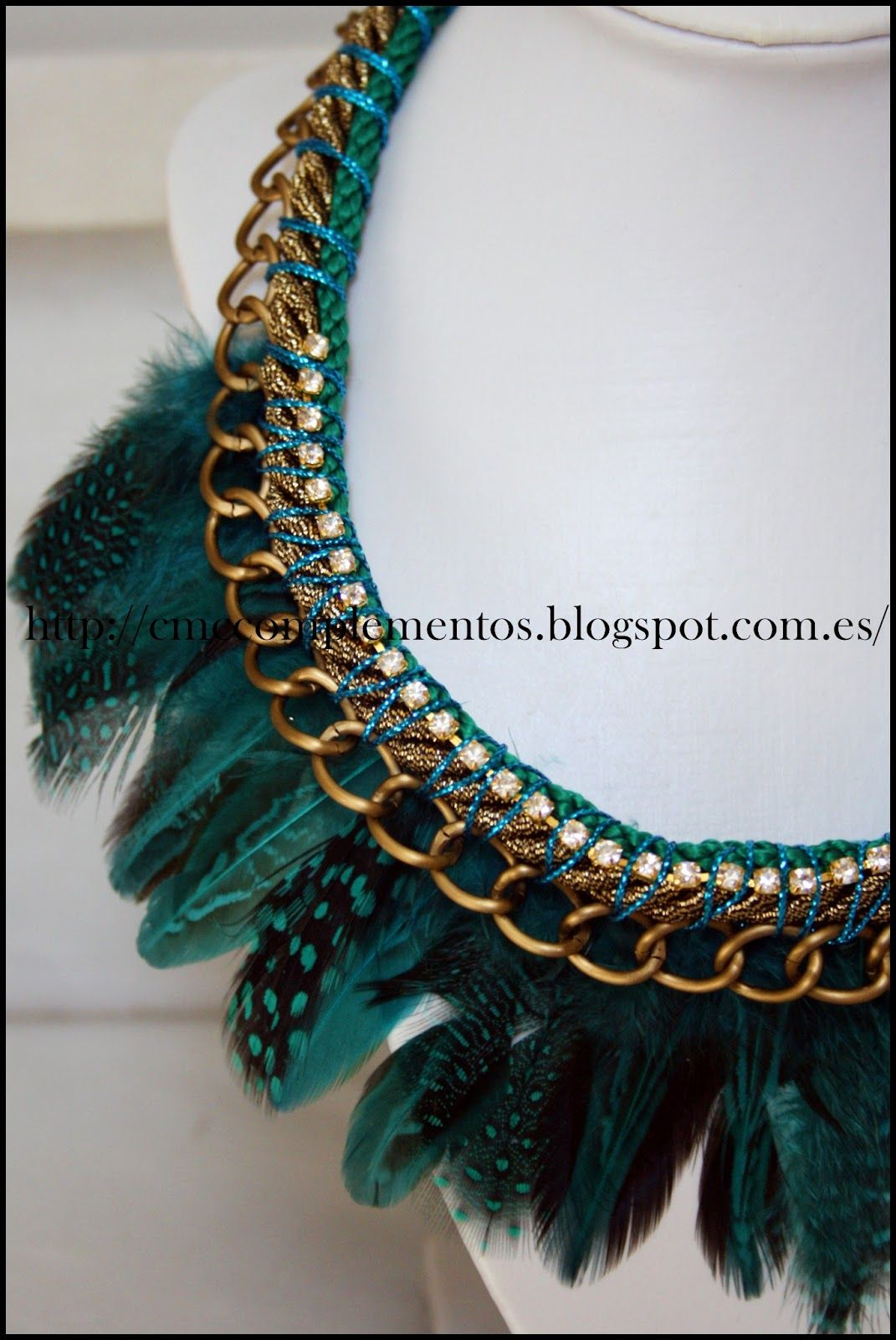 Collares De Plumas On Pinterest Collars Feather