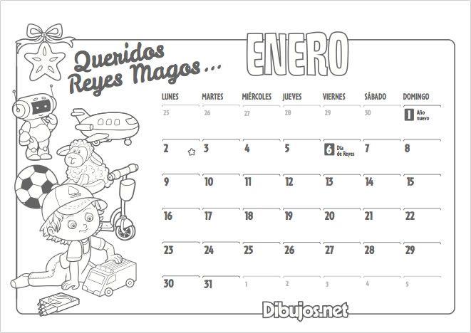 Ya Esta Aqui El Nuevo Calendario 2017 Para Colorear De Dibujos Net Un Nuevo Ano Lleno De Dibujos Co Calendario Infantil Calendario Para Ninos Imprimir Sobres