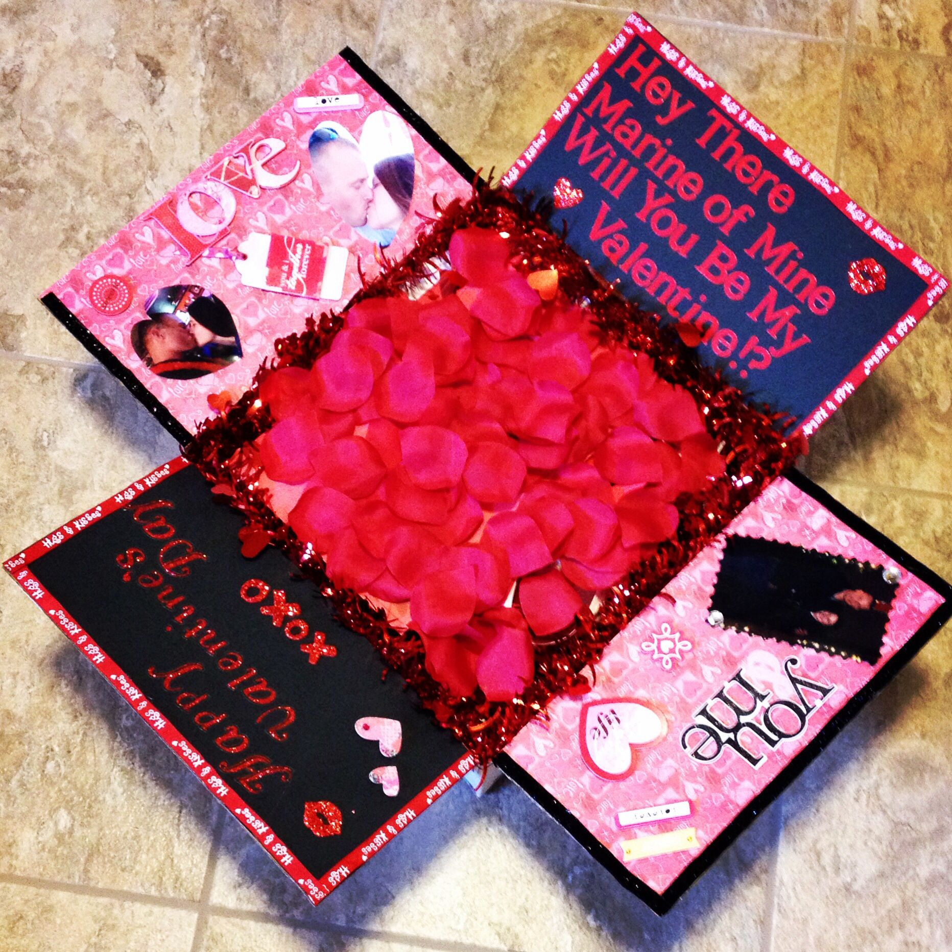Valentine's Day Care Package for My Marine!! Valentines
