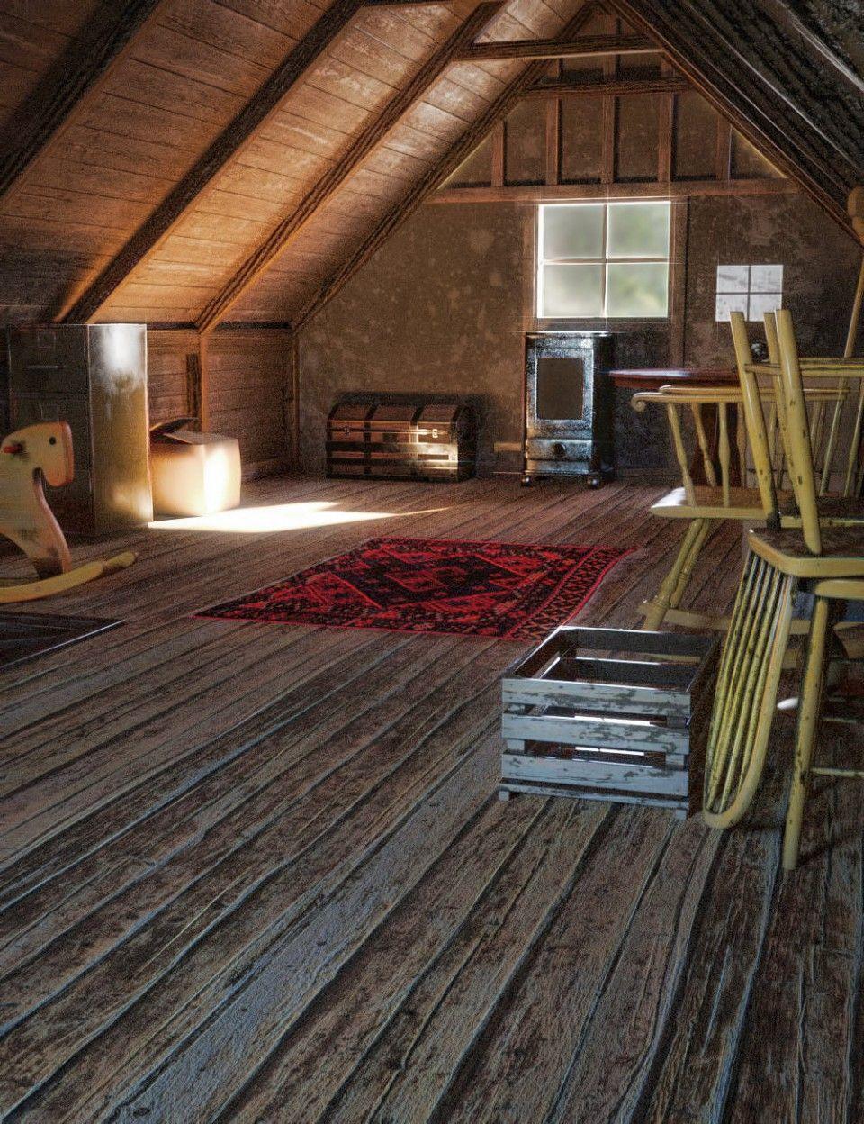old attic  dazd places  pinterest  attic. old attic