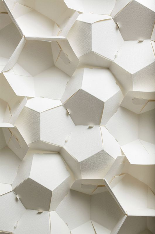 3d paper patterns by benja harney inspiration grid