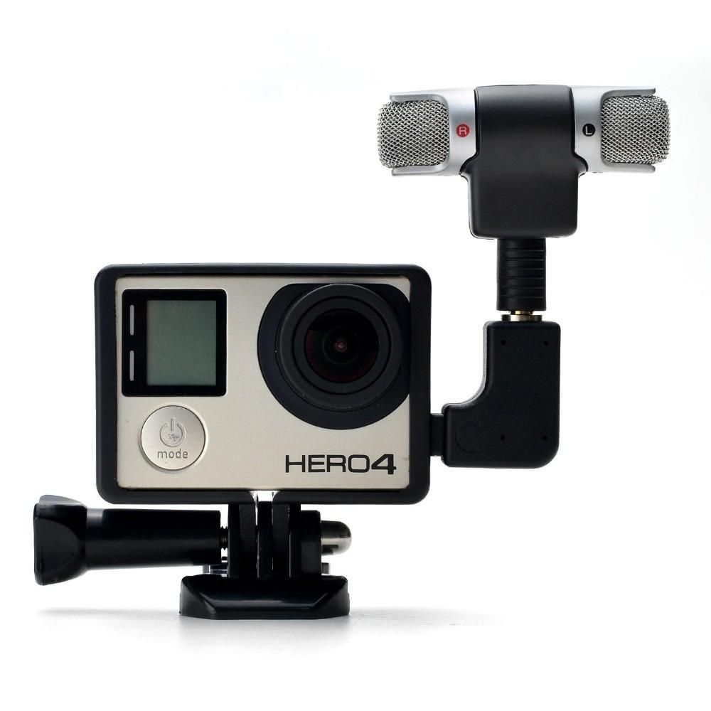 Stereo Microphone Adapter Frame for Gopro Hero 4 | Products | Pinterest