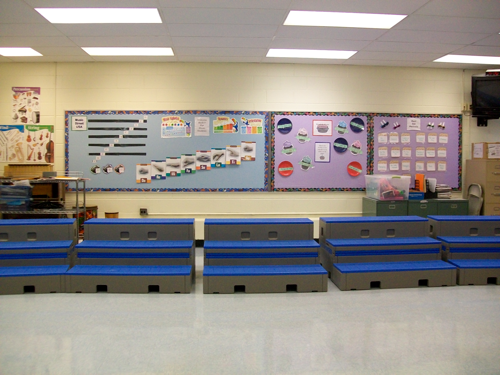 Music Classroom Design ~ Flipforms risers seating staging expensive music